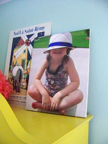 {DIY} Photo Canvas Art