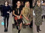 Front Row Celebrities at Burberry Prorsum at London Fashion Week With Rachel Bilson, Kate Bosworth, Alexa Chung and More