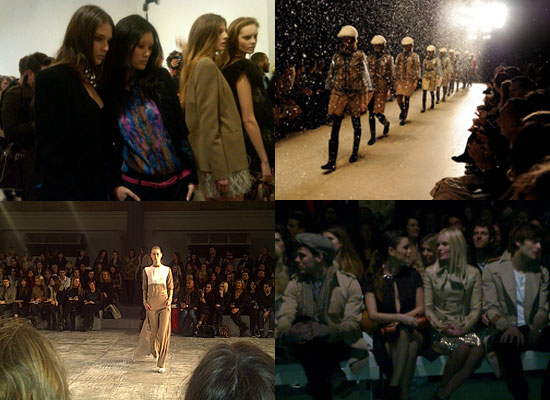 2011 A/W London Fashion Week: Fab Twit Pics!