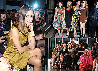 2011 A/W London Fashion Week Celebrities Olivia Palermo, Alexa Chung, Rachel Bilson