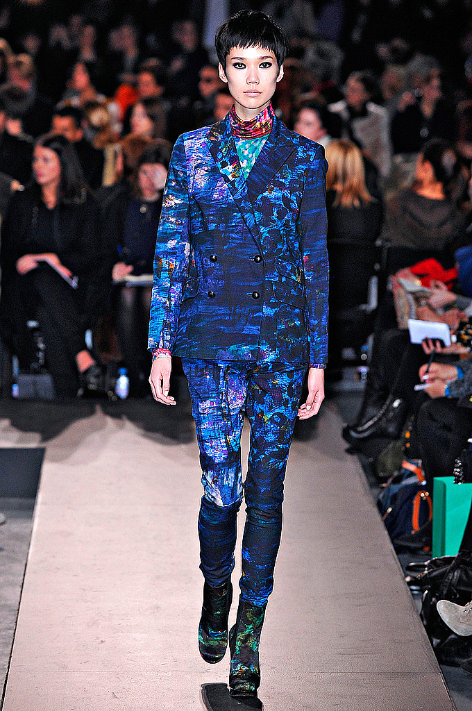 Erdem: Because now we can wear his impressionistic floral prints head to toe. More from Erdem's Fall 2011 collection here.