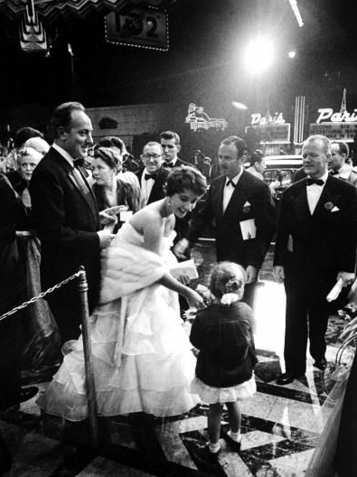 Elizabeth Taylor at the 1953 Academy Awards