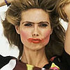 Pictures of Heidi Klum Getting a Makeover