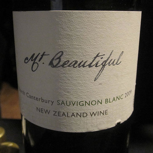 Review of 2009 Mt. Beautiful Sauvignon Blanc