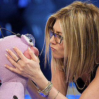 Pictures of Jennifer Aniston and Adam Sandler at the El Hormiguero Show 2011-02-23 06:41:05