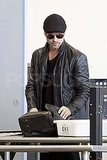 Looking Oh So Fine — Brad Pitt's En Route to His Next Destination