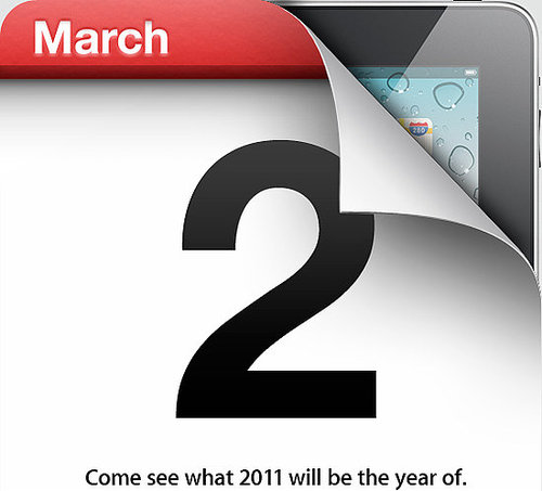 iPad 2 Launch Event on March 2