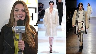 Fur Trend at Derek Lam, Diane von Furstenberg, Tory Burch at Fall 2011 New York Fashion Week!