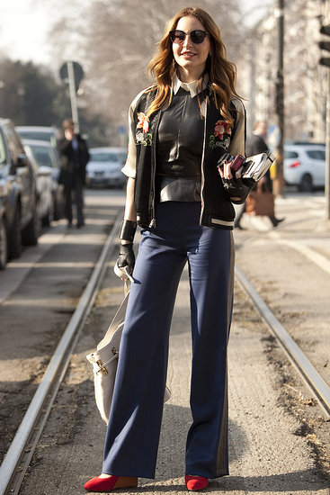 17 Glorious Milan Fashion Week Street Style Snaps!