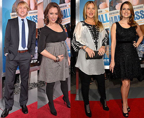 Pictures of Owen Wilson, Pregnant Alyssa Milano at Hall Pass Premiere 2011-02-24 09:51:25
