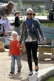 Naomi Watts Takes Her Blond Boys For a Park Day