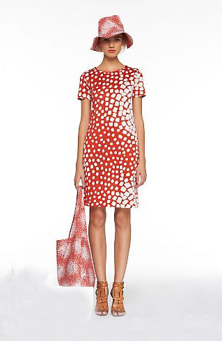 Diane von Furstenberg Square Dot Reina Dress ($285)