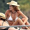 Pictures of Elle MacPherson in a Bikini While in Sydney