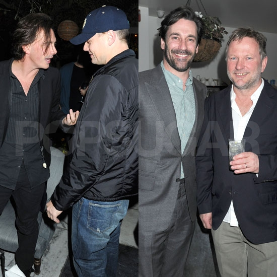 Pictures of Leonardo DiCaprio and Jon Hamm at a Grey Goose Pre-Oscars Party