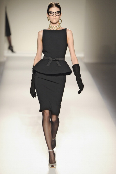 2011 Fall Milan Fashion Week: Moschino