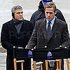 Pictures of George Clooney, Ryan Gosling, Evan Rachel Wood Filming Ides of March