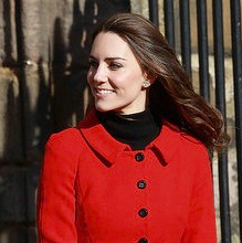 Pictures of Kate Middleton and Prince William at St. Andrew's University