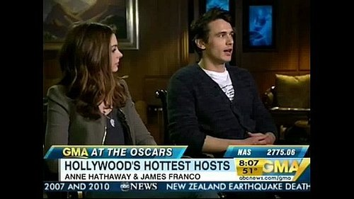 Anne Hathaway and James Franco on Being Asked to Host the Oscars