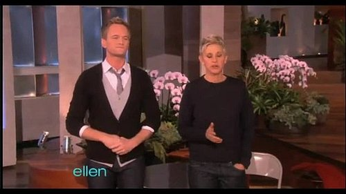 Neil Patrick Harris and Ellen Reenact Oscar Nominated Films!