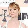 Mia Wasikowska in Dolce &amp; Gabbana at the Independent Spirit Awards 2011