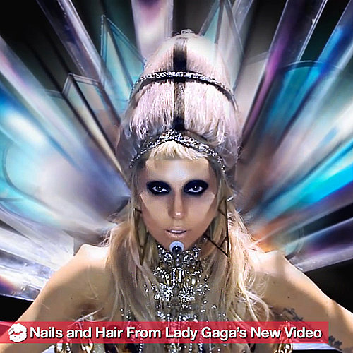 "Lady Gaga's New ""Born This Way"" Video: All the Beauty Looks"