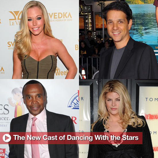 Introducing the New Cast of Dancing With the Stars!