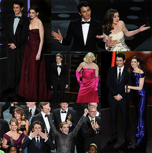 Pictures of 2011 Oscar Winners Natalie Portman, Colin Firth, Melissa Leo, and Christian Bale