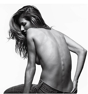 Pictures of Gisele Bundchen Posing Topless For the March Issue of V Magazine