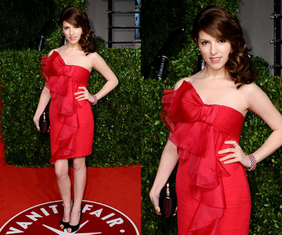 Anna Kendrick at Vanity Fair Oscars Afterparty 2011
