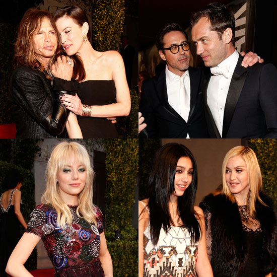 Family and Friends Get Together For the Vanity Fair Oscars Afterparty!