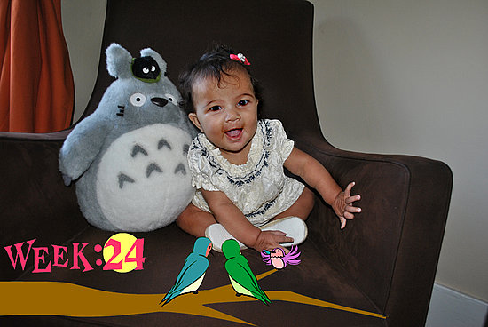 Olivia Lily 24 Weeks Old!!