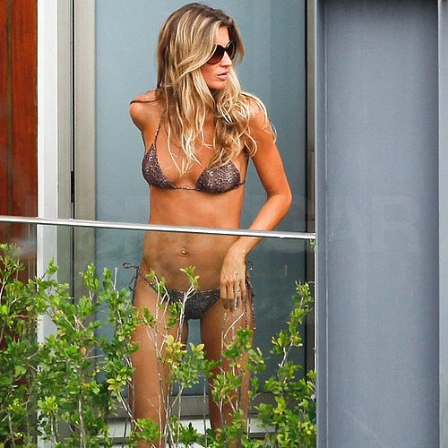 Pictures of Gisele Bundchen in a Bikini While on Vacation in Rio