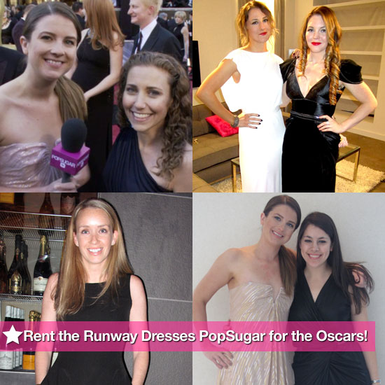 Rent the Runway Dresses PopSugar For the Oscars!