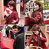 Pictures of Suri Cruise and Katie Holmes at Vancouver Toy Store