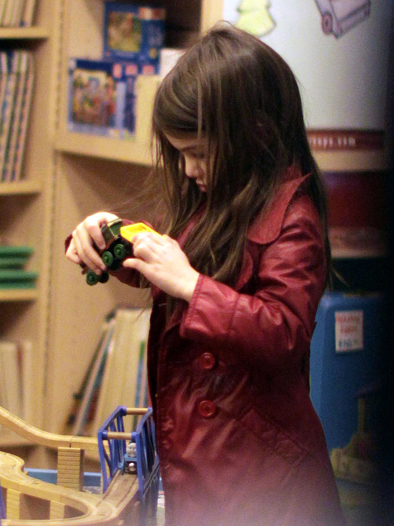 Suri Cruise Shows Her Canadian Pride During Adorable Toy Store Trip With Katie