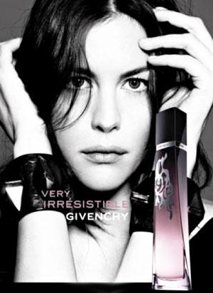 Liv Tyler for Givenchy's Latest Fragrance Vig L'Intense