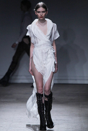 Fall 2011 Paris Fashion Week: Nicolas Andreas Taralis