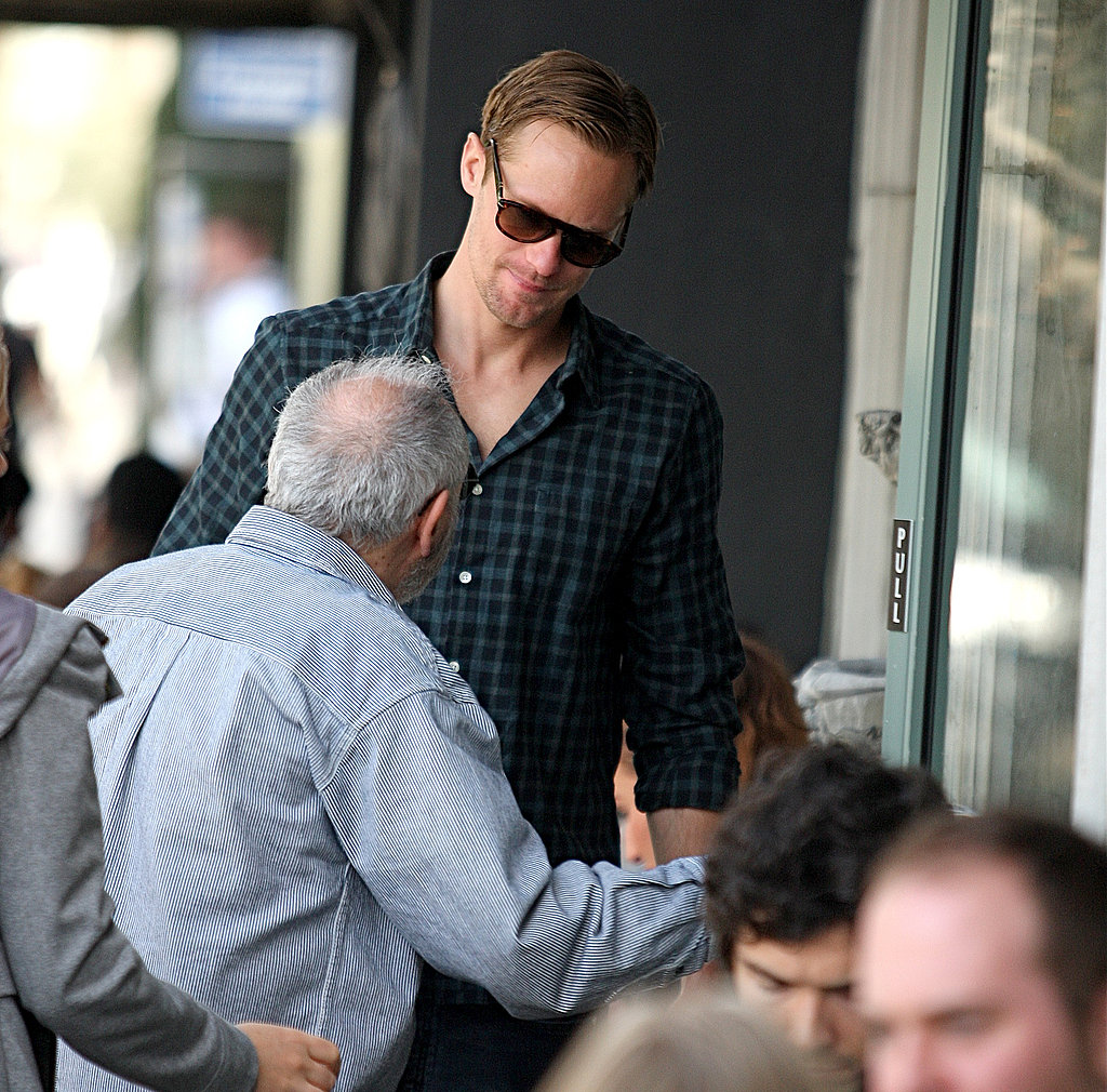 Alexander Skarsgard Sticks to His Routine and Is Cannes-Bound!