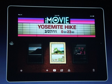 iMovie and GarageBand For iPad 2