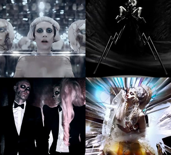 Lady Gaga's Born This Way Fashion Looks