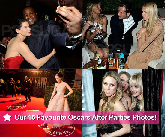 Our Favourite 15 Pictures From the Oscar After Parties!