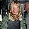 Pictures of Sienna Miller Leaving Rehearsal For Her Play Flare Path in London