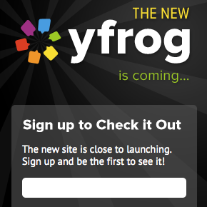 New Yfrog Social Photo Sharing Site