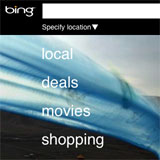 Bing Mobile Deals Site