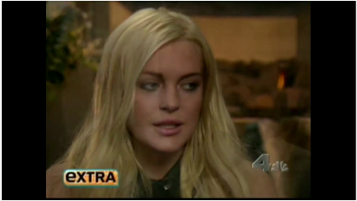 Lindsay Lohan Discusses Her Road to Recovery on Extra
