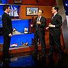 Jimmy Fallon and Stephen Colbert Ice Cream Fight