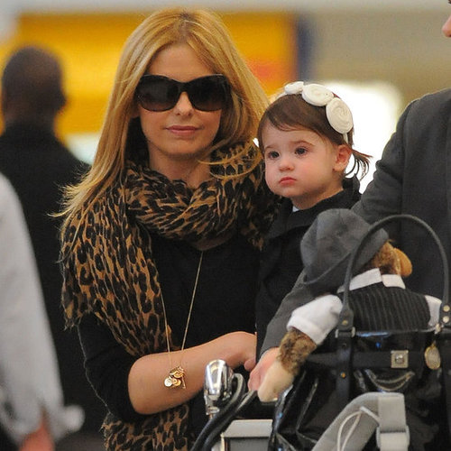 Pictures of Sarah Michelle Gellar and Her Daughter Charlotte Prinze Leaving LAX