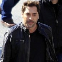 Pictures of Javier Bardem Shooting a Commercial in Barcelona, Spain