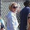 Pictures of Britney Spears and Kevin Federline at Sean Preston&#039;s Little League Game