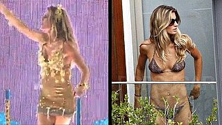 Video of Gisele Bundchen Dancing in Carnival and In Bikini 2011-03-07 11:47:00